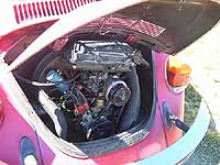 1974 Super Beetle 1600cc engine