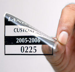Inkjet Ultra Cling, Clear